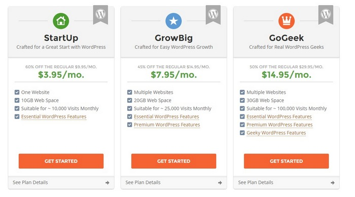 siteground-step-1 How To Make A Website with WordPress – The Ultimate Guide