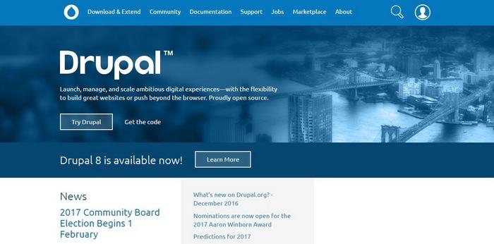 drupal Top 15 Blogging Platforms – A Detailed Comparison