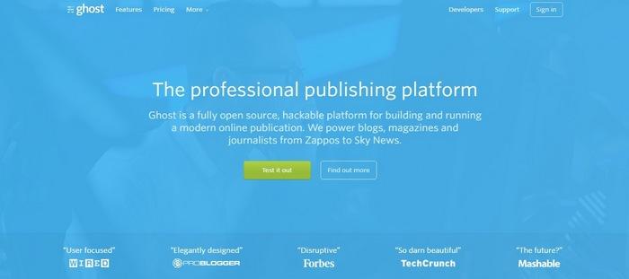 ghost Top 15 Blogging Platforms – A Detailed Comparison