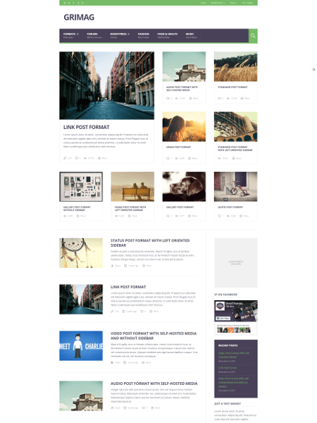 Grimag 16+ Best AdSense Optimized WordPress Themes