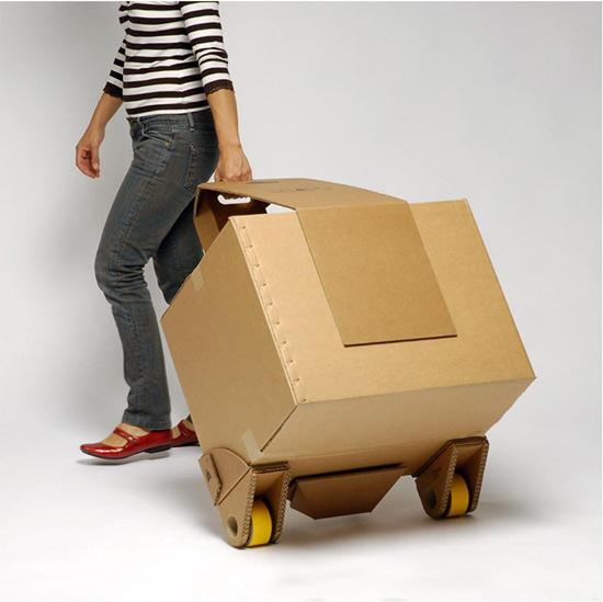 move it cardboard cart
