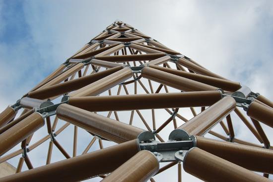 shigeru ban paper tower