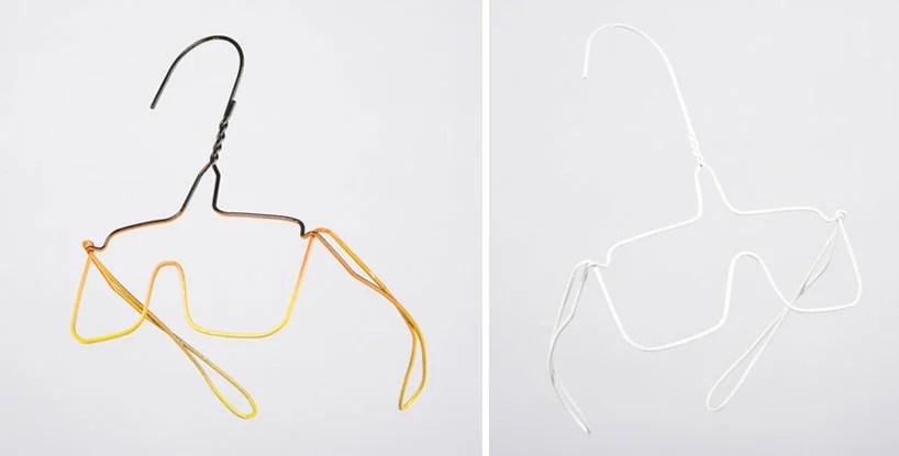 colgate searle wire hanger sculptures