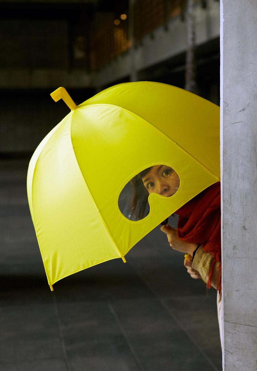 goggle umbrella submarine