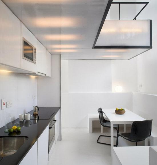 Two Wall Kitchen Layout