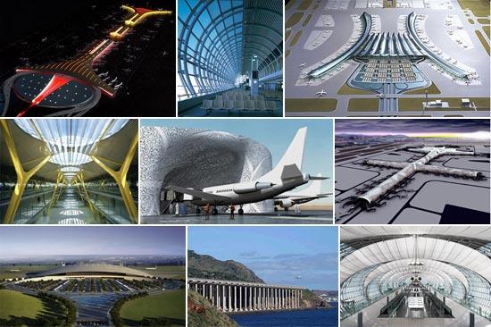 contemporary airport design