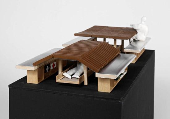 Sean Godsell Architects Picnic Table House