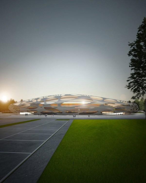 Ofis Architects Fc Bate Borisov Stadium