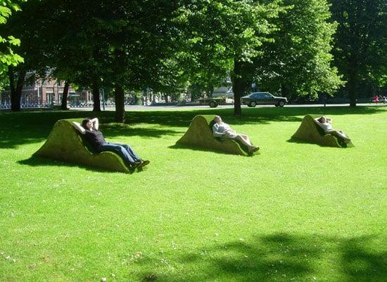 lisette spee and tim van den burg lawnge chairs
