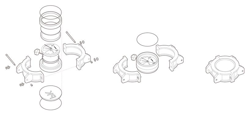 8to5 wrist watch prototype by paul kweton