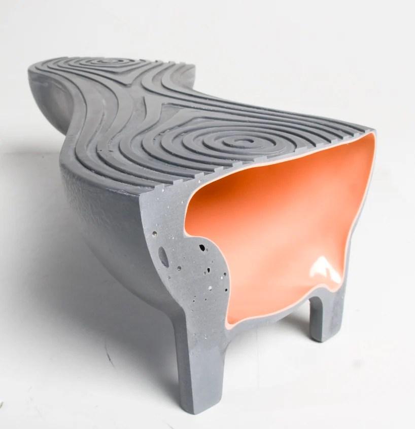 Yael Zwickel Hollows Rotation Molded Furniture