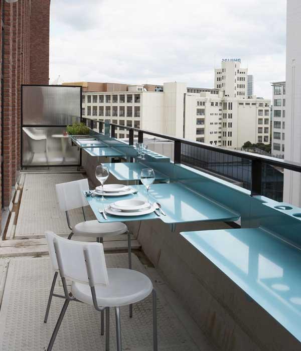 balcony kitchen  designboomcom