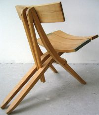 recycled wood chairs by john booth