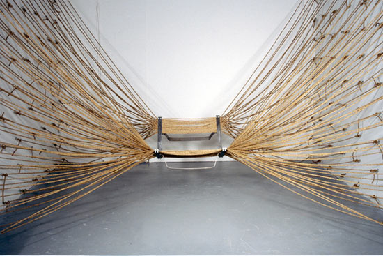 John Truex rope chair