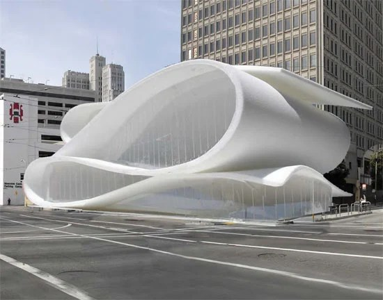 Proposal For Museum Of Design And Performance San Francisco