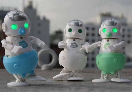 Cam Baby Robot By Cube Works