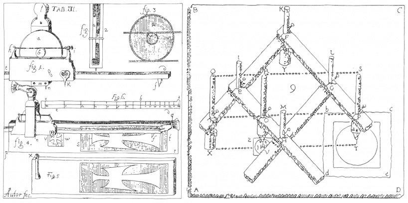 CNC historical drawing machine