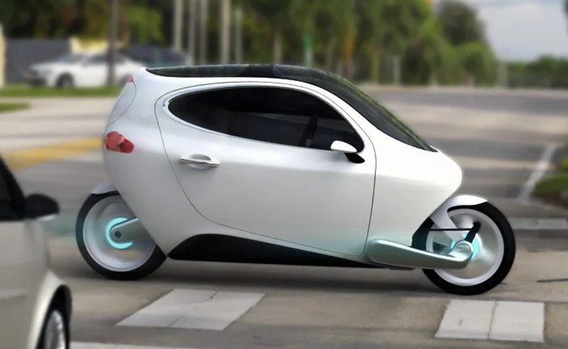 C 1 'rolling smartphone' electric vehicle