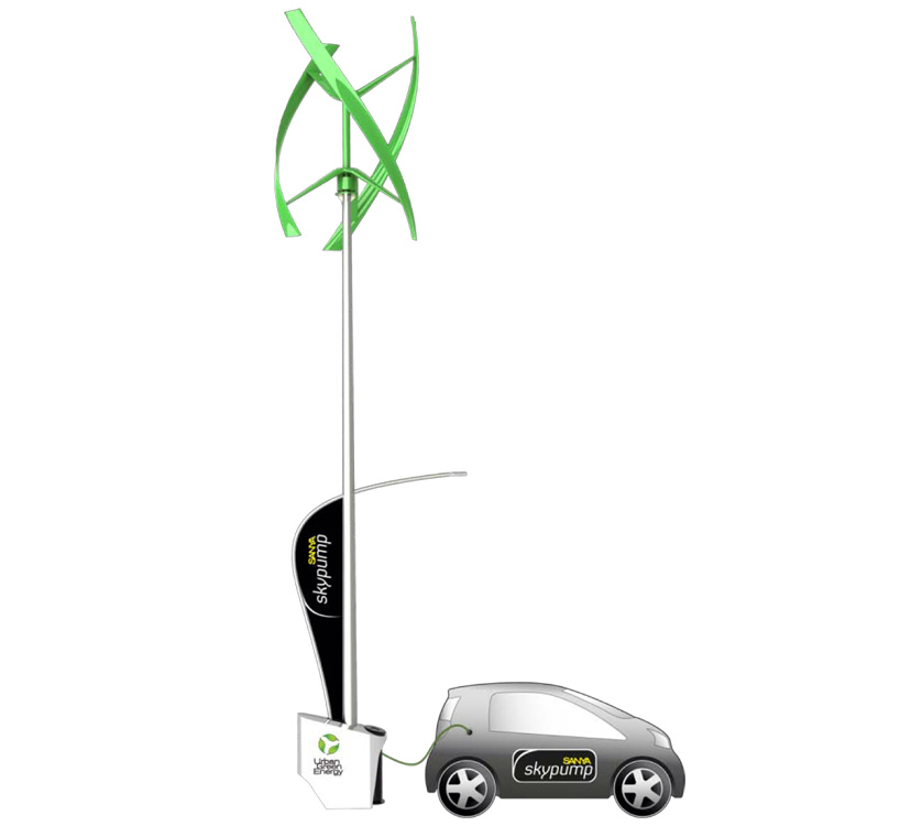 skypump electric charging station
