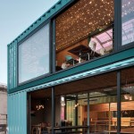 Wahaca Southbank Experiment Shipping Container Restaurant