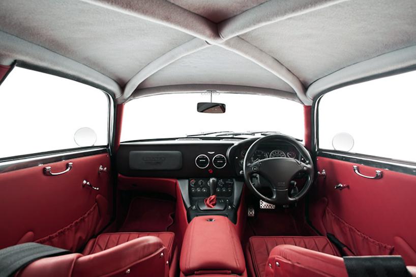 Aston Martin DB7 Transformed Into A Zagato