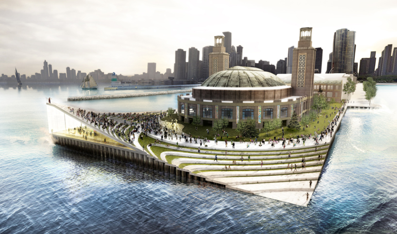Image result for new proposal for navy pier