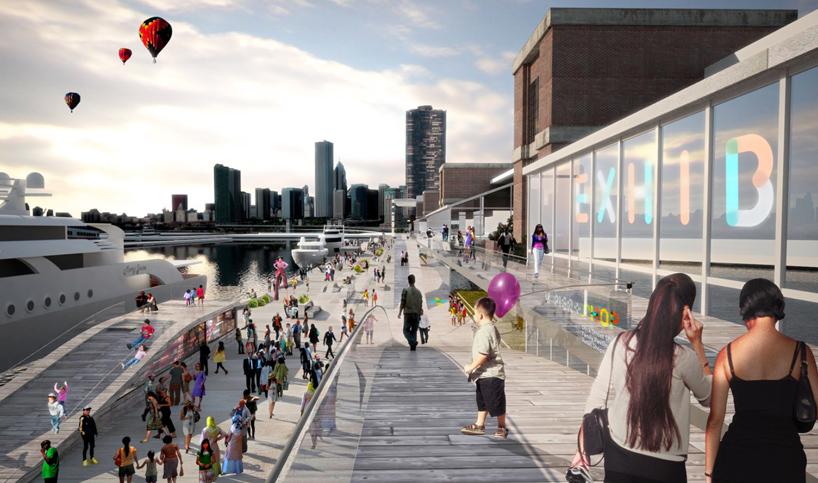 BIG architects  AECOM chicago navy pier proposal