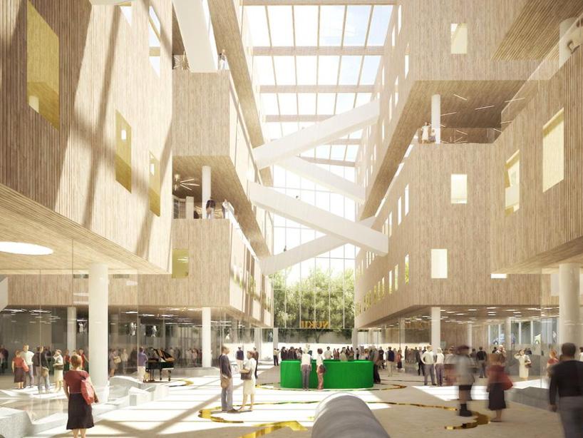project impact diagram polaris trailblazer 250 carb nl architects: nukii library, ljubljana