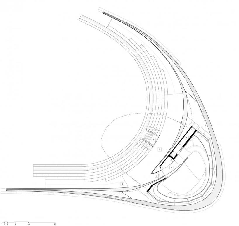 porsche pavilion by henn architekten