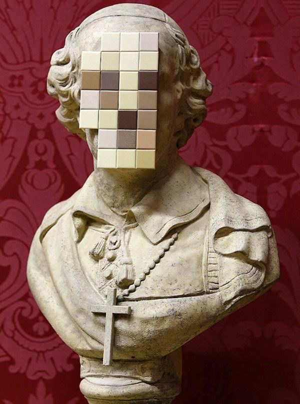 Banksy Cardinal Sin