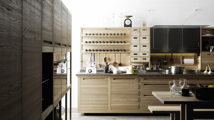 valcucine sinetempore  the new traditional kitchen