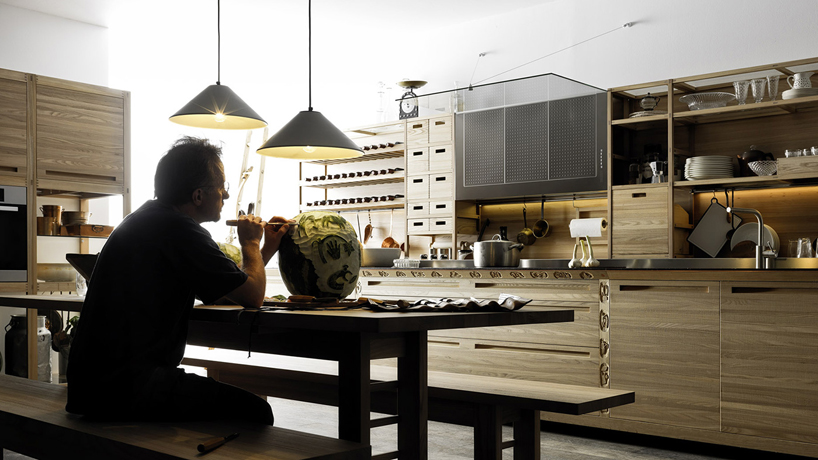 valcucine sinetempore  the new traditional kitchen