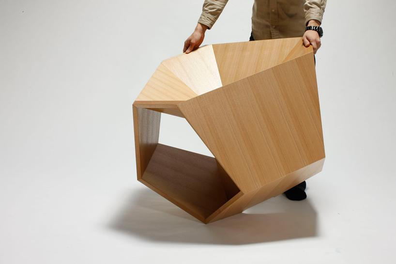 hiroaki suzuki dodecahedronic chair