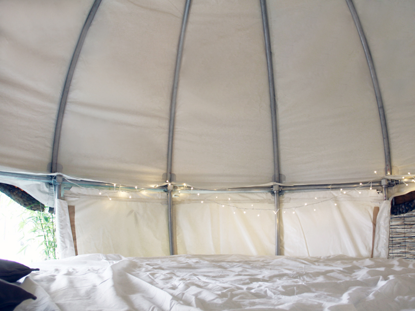 cocoon tree bed  a luxury tent getaway