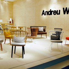 Unusual Chair Legs Sequin Covers Patricia Urquiola Fashions Nub For Andreu World After Windsor