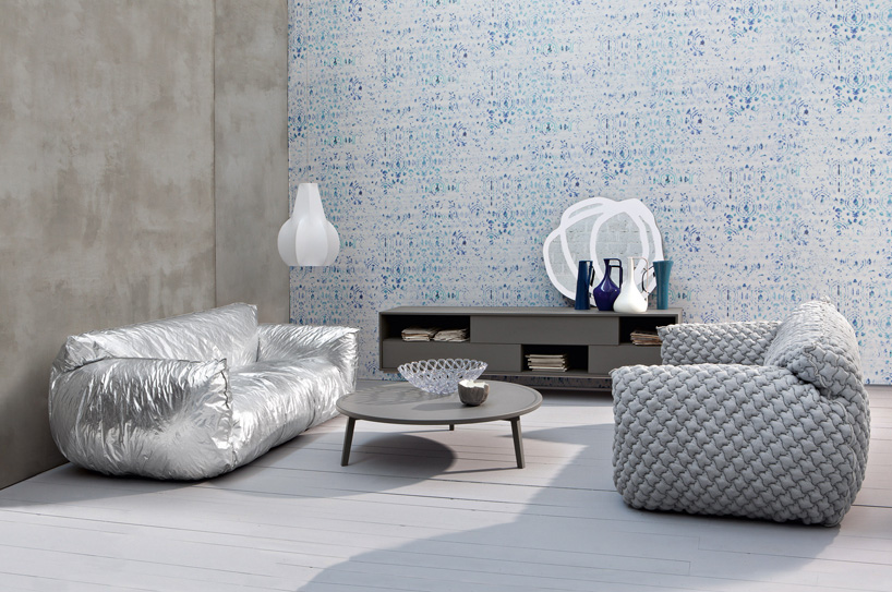 Paola Navone Designs Nuvola Cloud Chair For Gervasoni