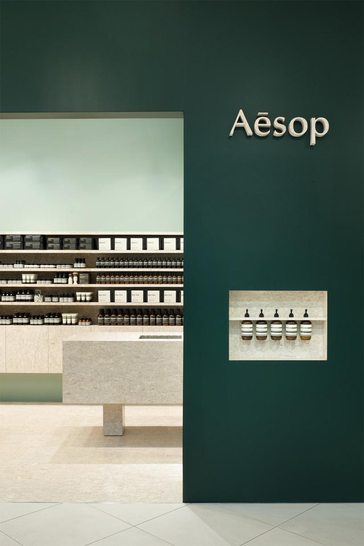 aesop tokyo and yokohama shops japan by torafu architects