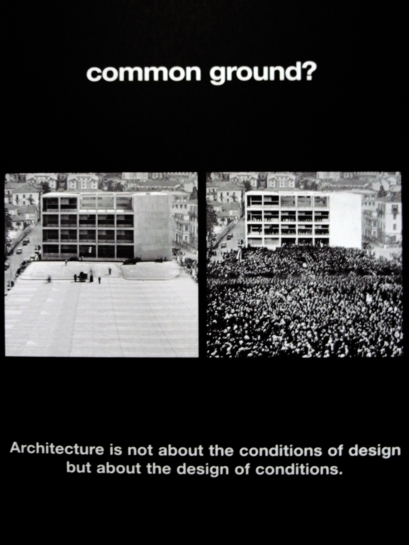 architecture is political!