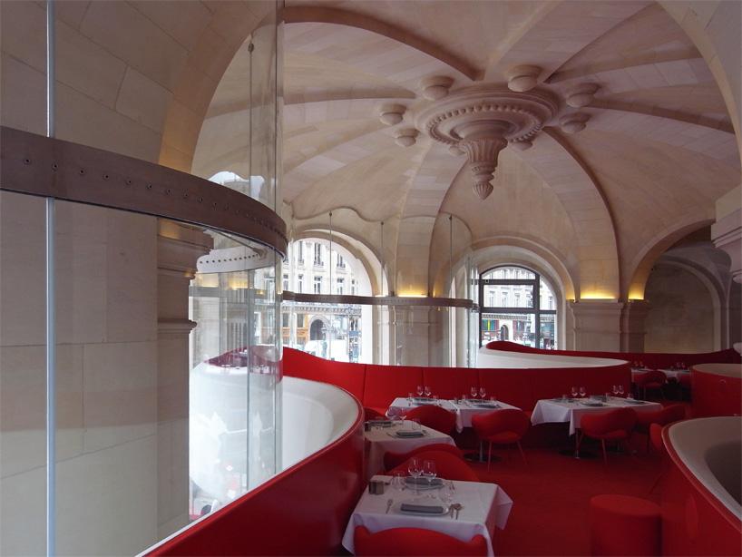 odile decq phantom opera restaurant paris