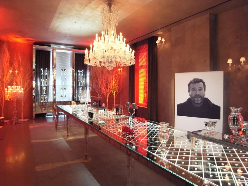baccarat harcourt glass forever exhibition