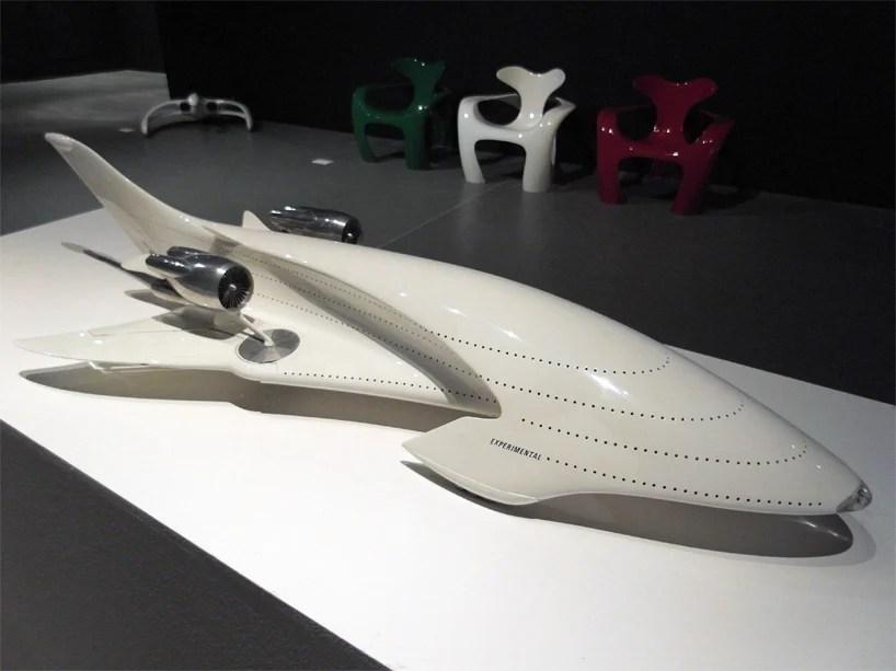 luigi colani retrospective biodesign codex show