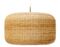 the andes house: wicker lamps