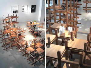 kengo kuma  associates: chidori furniture