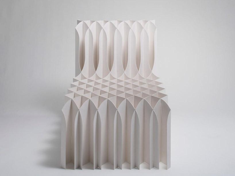 Koji Sekita Watching You Paper Chair