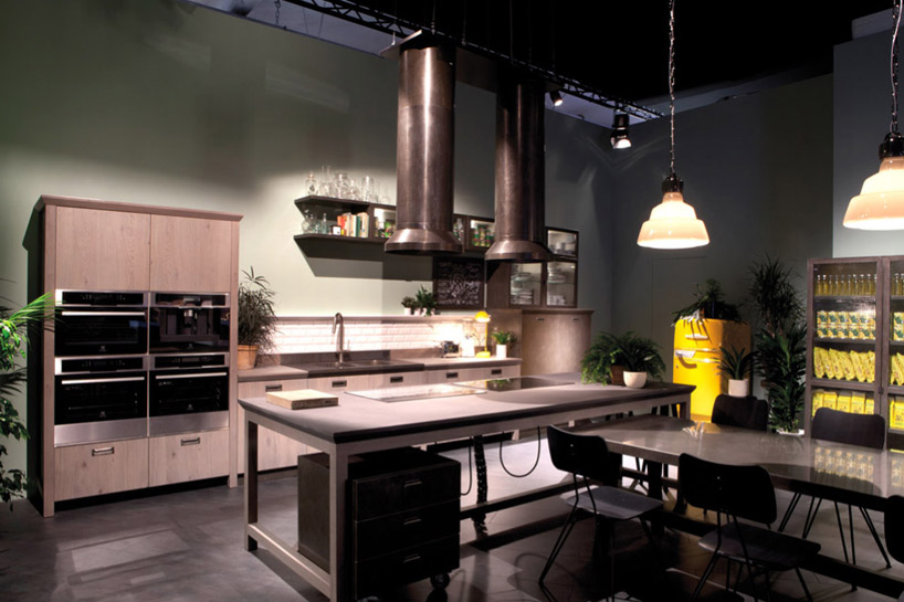 diesel social kitchen for scavolini