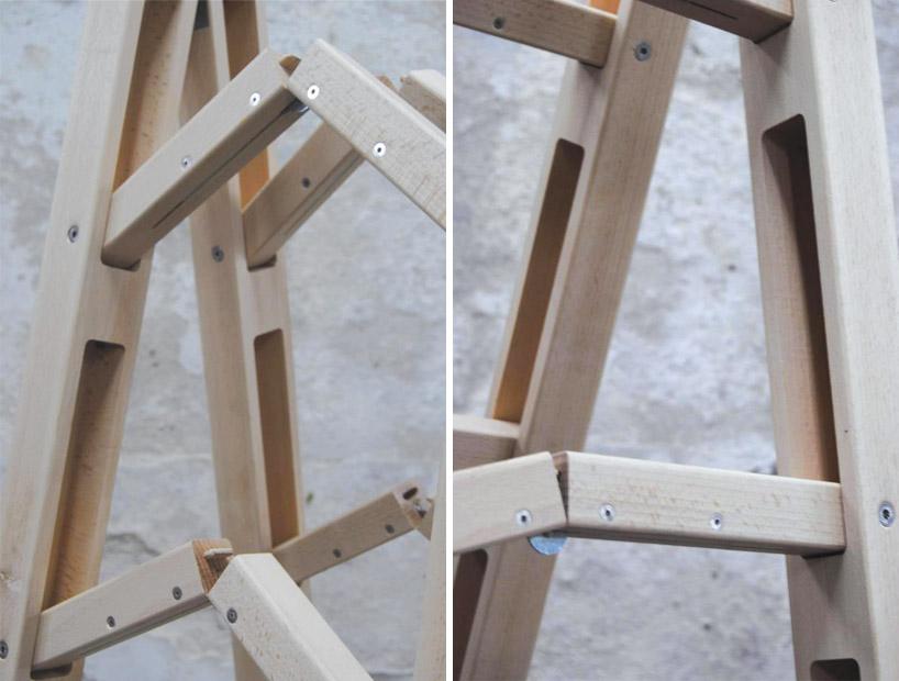folding corner ladder by company  company