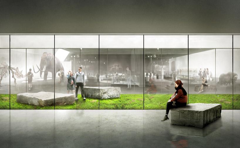kengo kuma  associates natural history museum proposal