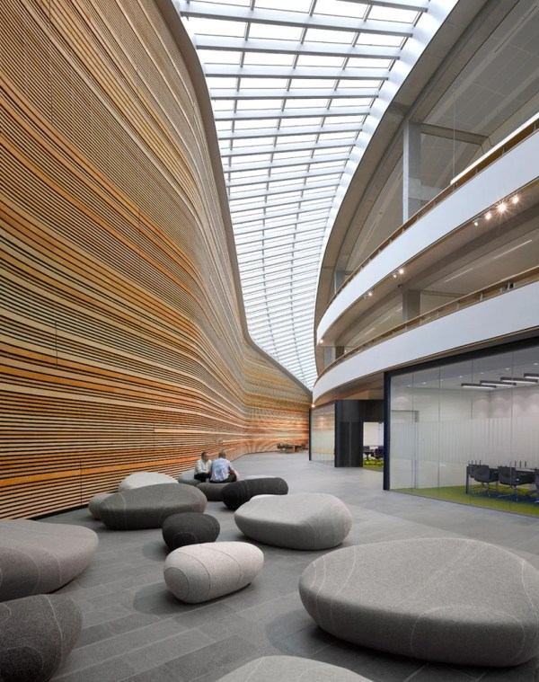 Office Building Lobby Seating