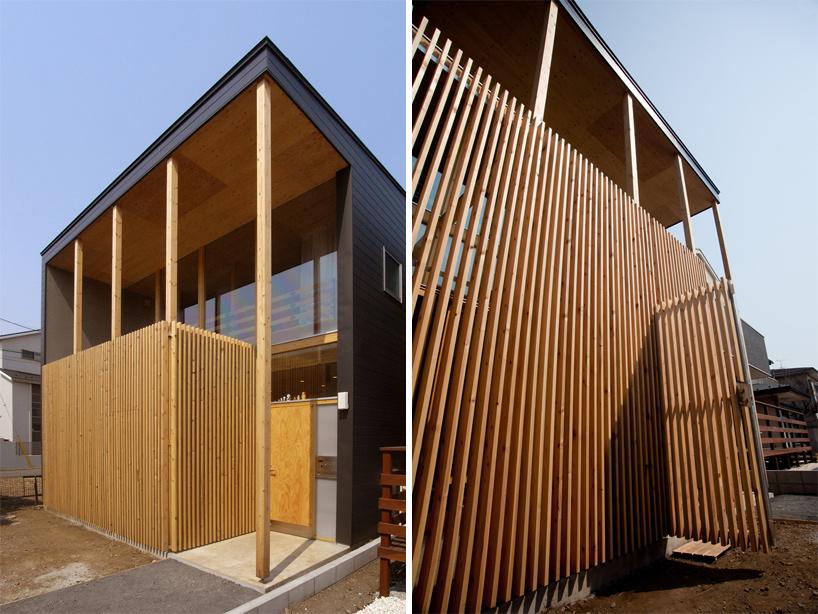 Mizuishi Architect Atelier House In Nukuikitamachi