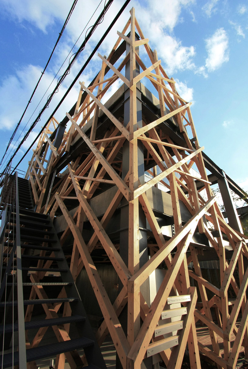 Yoshiaki Oyabu Architects Urban Woods